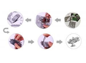Puzzles 3D en acier inoxydable